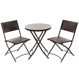 新米羅一桌二椅組 圓桌款