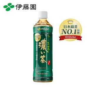 OiOcha 濃味綠茶PET530mL*24入/箱購