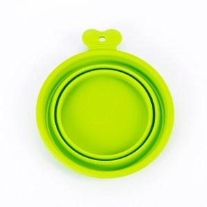 骨頭把手折疊矽膠碗 M 綠
