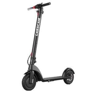 CARSCAM行車王 F9 9吋抽取式電池智慧電動滑板車黑色