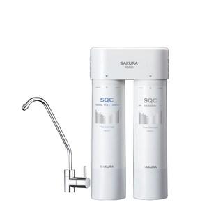 櫻花高效(雙管長效過濾型)濾水器(與P0680同款)淨水器P-0680