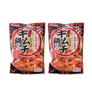 (組)日本丸三泡菜火鍋湯底750g(3~4人) 2入組