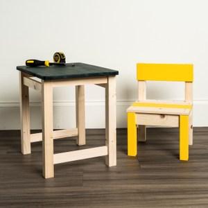 (組)DIY材料包-一桌一椅組合