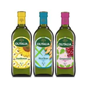 義大利奧利塔均衡三入組(葵花+葡萄籽+玄米1L)