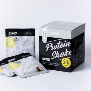 Spark Shake 高蛋白手搖飲(無甜味) 30入- 香濃椰奶