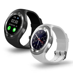 W9圓款時尚觸控智慧手錶曜石黑