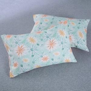 HOLA 夢園純棉美式枕套 2入