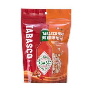 TABASCO風味爆米花辣雞口味60g
