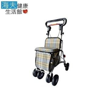 【海夫】建鵬 JP-730 無扶手收合式健行車 散步車 助行車 購物車