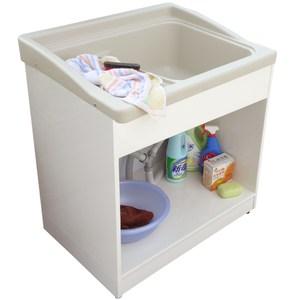 新式大型開放款塑鋼洗衣槽 水槽 洗手台-1入
