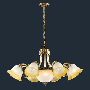 HONEY COMB 歐式客廳八燈吊燈BL90511