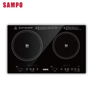 SAMPO聲寶 微電腦觸控變頻IH雙口電磁爐 KM-VA14GM