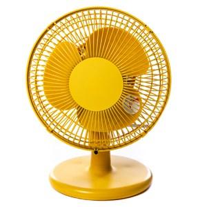 日本 ±0 正負零 桌上型風扇電風扇 黃色款 型號XQS-A220