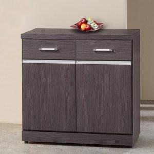 Homelike 得恩2.7尺收納餐櫃