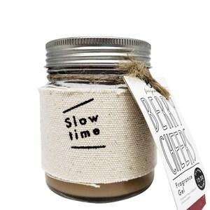 日本 Slow Time 香氛膏 歡樂莓果140g x 3入組