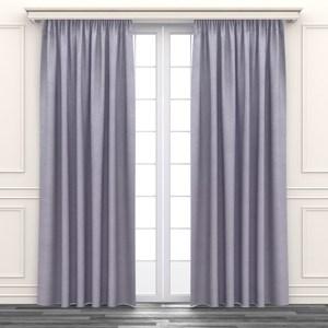 亂紋緹花遮光窗簾 寬290x高210cm 粉色