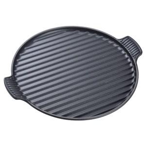 LC 雙耳圓形烤盤32cm-黑