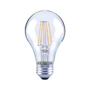 PRO特選 球泡型LED燈絲燈泡6W清光E27-晝光色