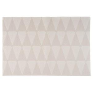 HOLA PVC編織餐墊30x45cm 幾何米白