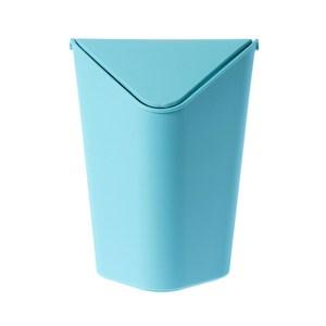 多佛桌上型三角垃圾桶 1.6L 藍