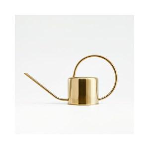 Crate&Barrel Gold 不鏽鋼澆水壺 1.3L