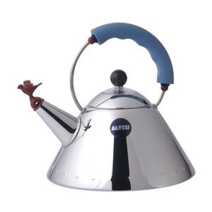 Alessi 鳥鳴壺 茶壺 水壺